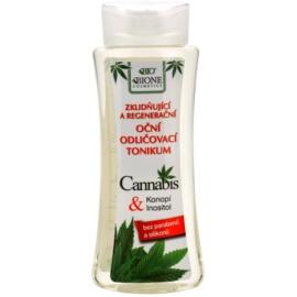 Bione Cosmetics Cannabis zklidňující odličovač očí  255 ml