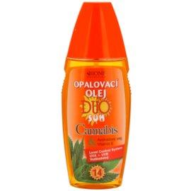 Bione Cosmetics DUO SUN Cannabis óleo bronzeador em cápsulas  SPF 14  150 ml