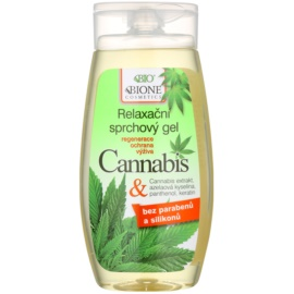 Bione Cosmetics Cannabis beruhigendes Duschgel  250 ml