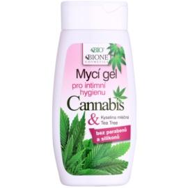 Bione Cosmetics Cannabis гель для миття для інтимної гігієни  250 мл