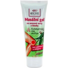 Bione Cosmetics Care gel de masaje con efecto calor  para músculos y articulaciones  200 ml