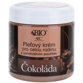 Bione Cosmetics Chocolate krema za obraz za vso družino  260 ml