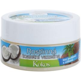 Bione Cosmetics Coconut rastlinski vazelin s kokosom  155 ml