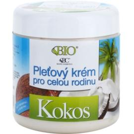 Bione Cosmetics Coconut arckrém az egész családnak kókuszzal  260 ml