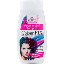 Bione Cosmetics Colour Fix Regenierendes Shampoo zum Schutz der Farbe  260 ml