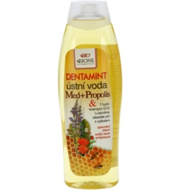 Bione Cosmetics Dentamint elixir bocal mel + propolis  500 ml