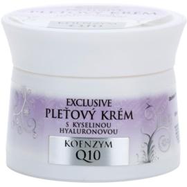 Bione Cosmetics Exclusive Q10 creme facial com ácido hialurónico  51 ml