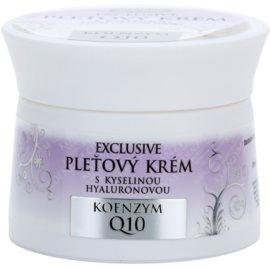 Bione Cosmetics Exclusive Q10 krem do twarzy z kwasem hialuronowym   51 ml