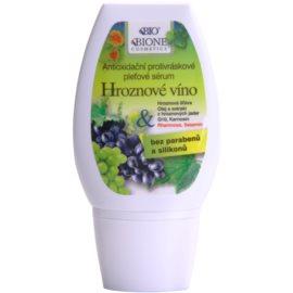 Bione Cosmetics Grapes sérum antioxidante contra as rugas sem parabenos  40 ml