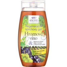 Bione Cosmetics Grapes regeneráló tusfürdő gél  250 ml