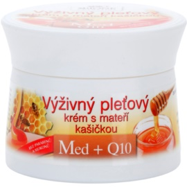 Bione Cosmetics Honey + Q10 nährende Creme mit Gelée Royal  51 ml
