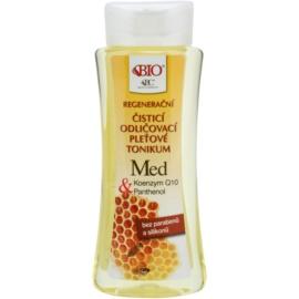 Bione Cosmetics Honey + Q10 tónico limpiador regenerador  255 ml