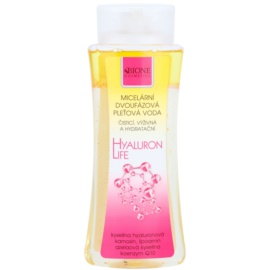 Bione Cosmetics Hyaluron Life dvoufázová micelární voda s hydratačním účinkem  255 ml