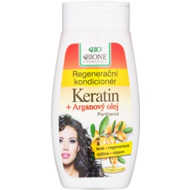 Bione Cosmetics Keratin Argan regenerierender Conditioner  250 ml