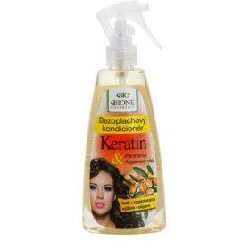 Bione Cosmetics Keratin Argan bezoplachový kondicionér ve spreji  260 ml