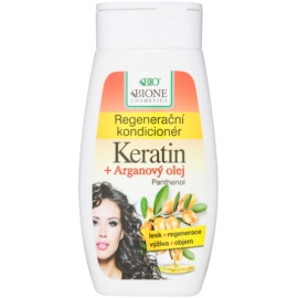 Bione Cosmetics Keratin Argan regenerierender Conditioner  260 ml