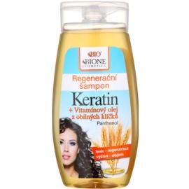 Bione Cosmetics Keratin Grain regenerační šampon pro všechny typy vlasů  250 ml