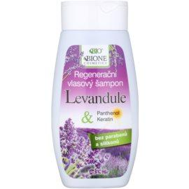 Bione Cosmetics Lavender champô regenerador para todos os tipos de cabelos  250 ml