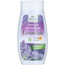 Bione Cosmetics Lavender relaxáló tusfürdő gél  260 ml