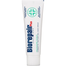 Biorepair Plus Protect Paste zur Stärkung des Zahnschmelzes  75 ml