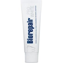 Biorepair Whitening Paste zur Erneuerung des Zahnschmelzes mit bleichender Wirkung  75 ml