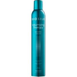 Biosilk Volumizing Therapy лак для волосся сильної фіксації  340 гр