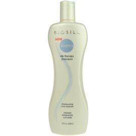 Biosilk Silk Therapy champô para todos os tipos de cabelos  350 ml