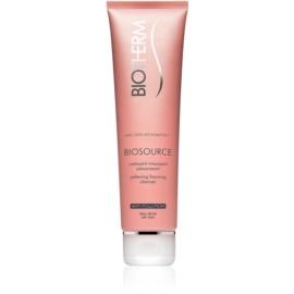 Biotherm Biosource crème moussante purifiante pour peaux sèches  150 ml