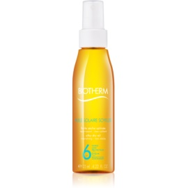 Biotherm Huile Solaire Silky Dry Oil SPF 6 125 ml