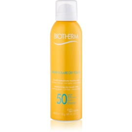 Biotherm Brume Solaire Dry Touch Moisturizing Mist Sunbathing With Matt Effect SPF 50 Waterproof  200 ml