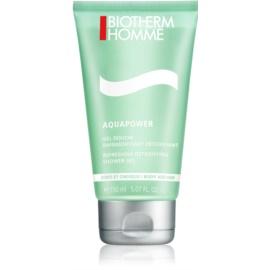 Biotherm Homme Aquapower osvežujoč gel za prhanje za telo in lase  150 ml