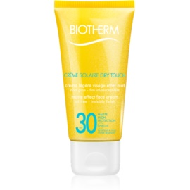 Biotherm Créme Solaire Dry Touch Matte Sunscreen On Your Face SPF 30  50 ml