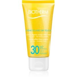 Biotherm Créme Solaire Dry Touch matující opalovací krém na obličej SPF 30  50 ml