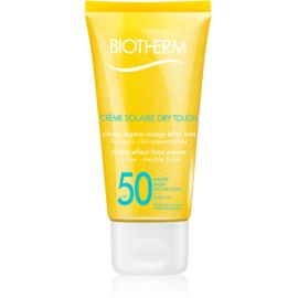 Biotherm Créme Solaire Dry Touch Matte Sunscreen On Your Face SPF 50  50 ml