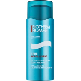 Biotherm Homme T-Pur Anti Oil & Shine Mattifying Gel with Moisturising Effect  50 ml