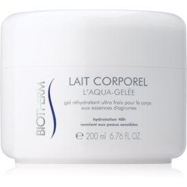 Biotherm Lait Corporel L'Aqua-Gelée hidratante com efeito refrescante para pele sensível  200 ml