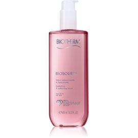 Biotherm Biosource lotion tonique hydratante pour peaux sèches  400 ml