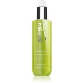 Biotherm PureFect Skin lotion tonique nettoyante et exfoliante pour peaux normales à grasses  200 ml