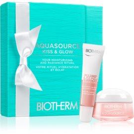 Biotherm Aquasource Plump & Glow kit di cosmetici VIII.