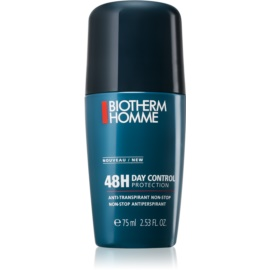 Biotherm Homme Day Control Déodorant antiperspirant roll-on fara parabeni  75 ml