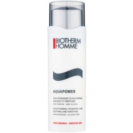 Biotherm Homme Aquapower kuracja nawilżająca do złagodzenia i wzmocnienia skóry wrażliwej  75 ml