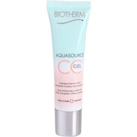 Biotherm Aquasource gel CC culoare Fair Skin 30 ml