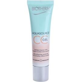 Biotherm Aquasource gel CC culoare Medium Skin 30 ml