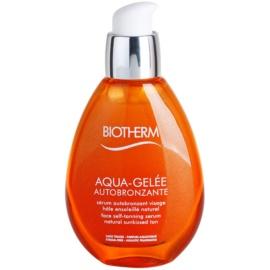 Biotherm Aqua-Gelée Autobronzante серум за лице за изкуствен тен  50 мл.