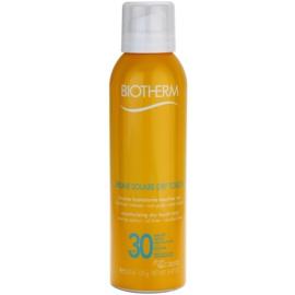 Biotherm Brume Solaire Dry Touch зволожуючий спрей для засмаги з матуючим ефектом SPF 30 водостійка  200 мл