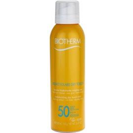 Biotherm Brume Solaire Dry Touch feuchtigkeitsspendender Selbstbräuner zum Aufsprühen mit Matt-Effekt SPF 50 wasserbeständige  200 ml