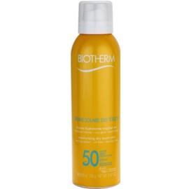 Biotherm Brume Solaire Dry Touch хидратираща слънцезащитна мъгла с матиращ ефект SPF 50 водоустойчива  200 мл.