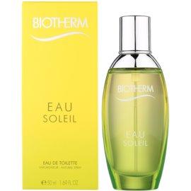 Biotherm Eau Soleil Eau de Toilette für Damen 50 ml