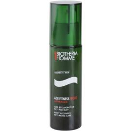Biotherm Homme Age Fitness Advanced noční pleťový gel proti stárnutí  50 ml