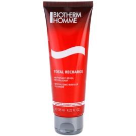 Biotherm Homme Total Recharge rewitalizujący żel oczyszczający  125 ml